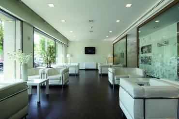 Hotel Portello lobby