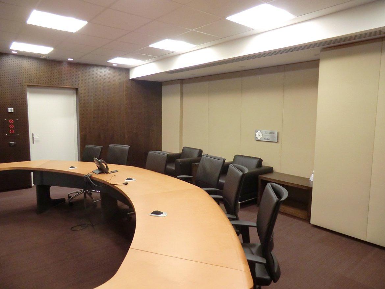 Multinational telepresence room MQA Metroquadro Architetti