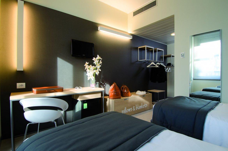 Hotel Aosta rooms